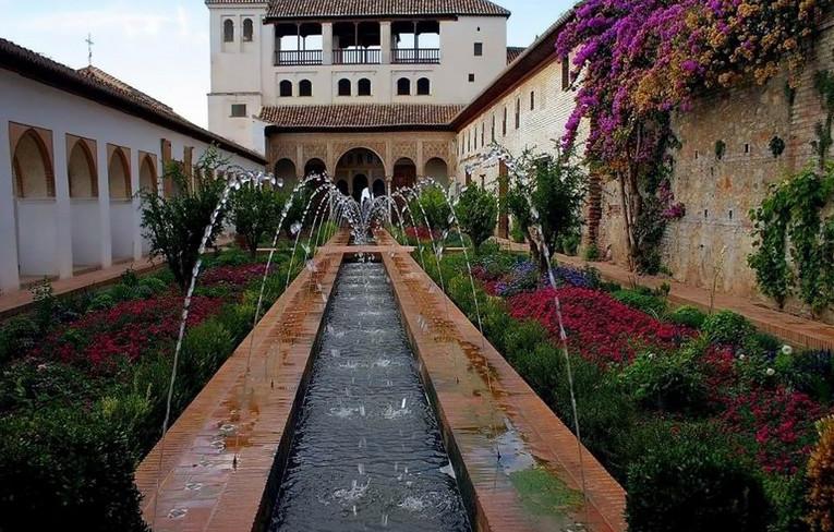 Jardines de la Alhambra y generalife